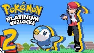 Pokemon Platinum NUZLOCKE Part 2 - TFS Plays