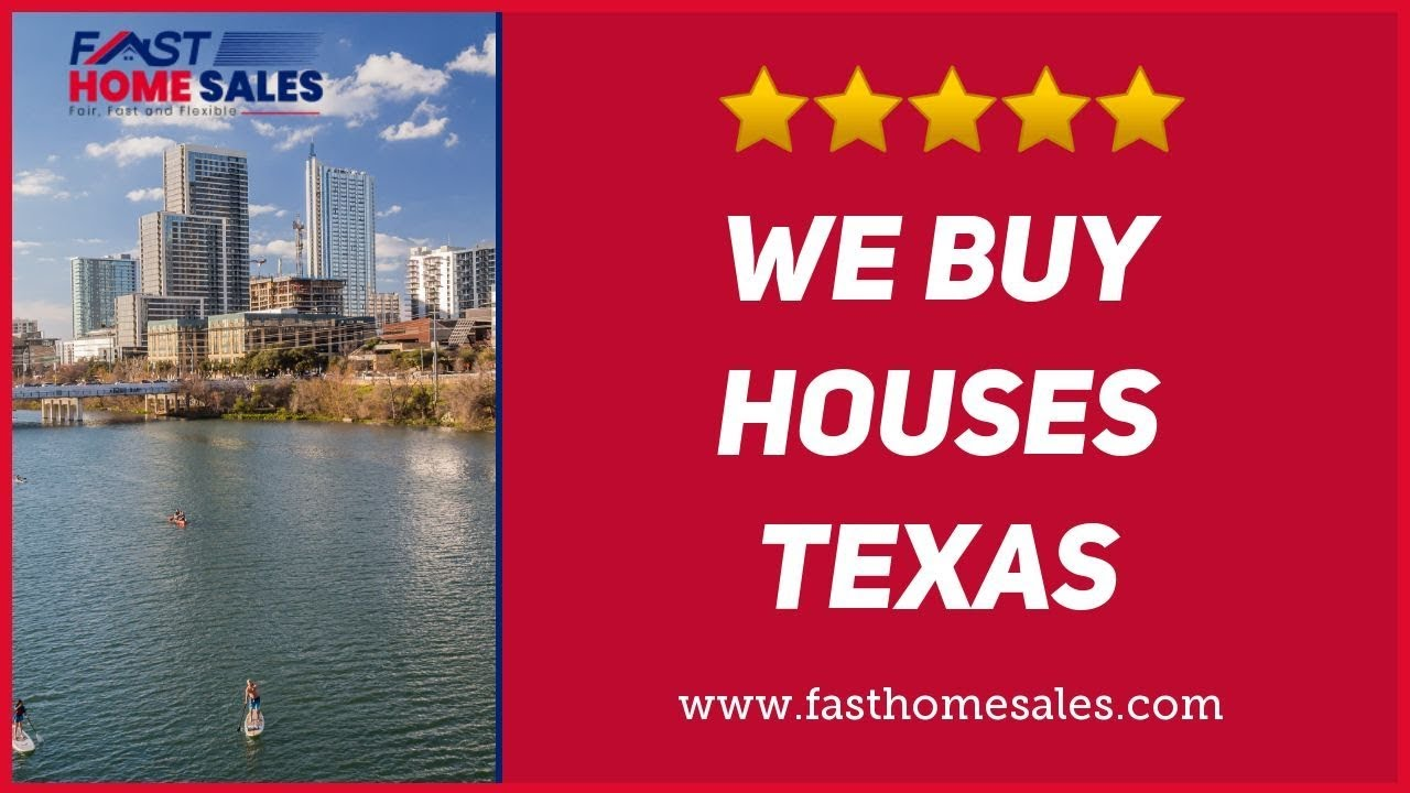 We Buy Houses Texas - CALL 833-814-7355 - FAST Home Sales