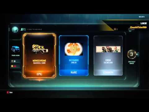Black Ops III Waste Of Rare Crypto Keys!!!