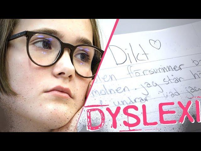 Jag har dyslexi - Jobbigt