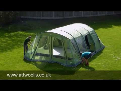 Vango Taiga 600XL Pitching & Packing Video (Real Time)