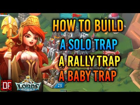 Lords Mobile: How To Build A Trap Account Guide