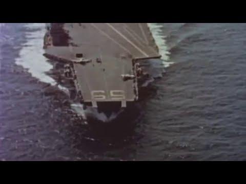 Landing operations on USS Forrestal (CV-59) - 1962