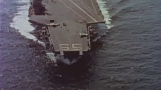 Landing operations on USS Forrestal (CV-59) - 1962