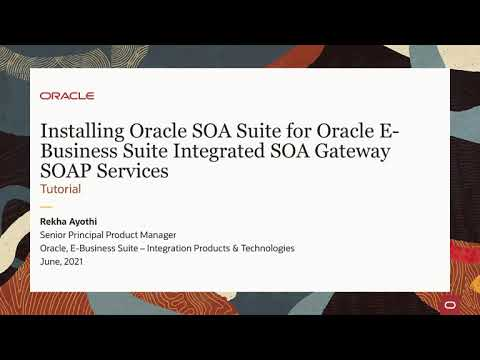 Installing Oracle SOA Suite for Oracle E-Business Suite Integrated SOA Gateway Release12.2