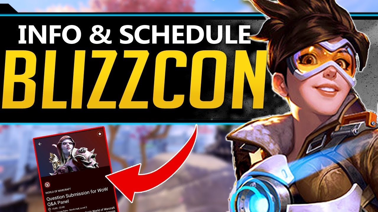 Overwatch Blizzcon Update - BIG Change! NEW Info and Schedule thumbnail