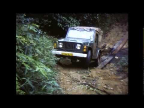 Images d'archives - Gabon en 1976, balade dans les Monts de Cristal