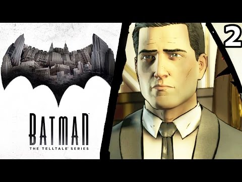 Batman: Telltale Series - Episode 1 - Part 2 Bruce Wayne [Gameplay]