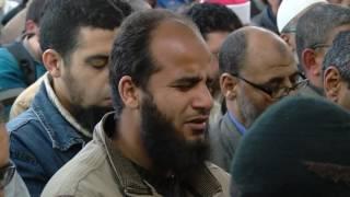 تشييع جنازة الزعيم الإسلامي عمر عبد الرحمن في مصر
