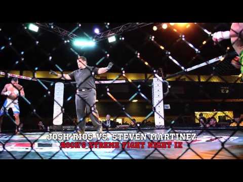 Josh Rios vs. Steven Martinez - Rock's Xtreme Fight Night IX