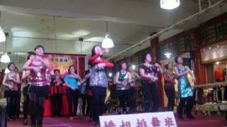 Hanna Line Dancing Vancouver-Little Apple Chinese NewYear 2015 Celebration