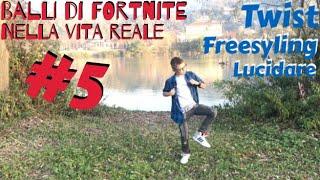 Fortnite dances in real life #5