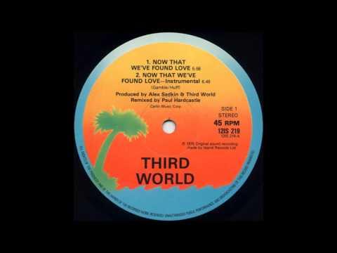 Third World - Now That We 've  Found Love (Instrumental)