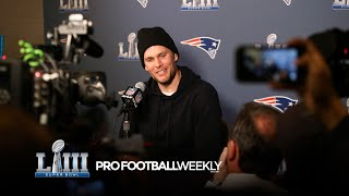 Super Bowl LIII: Patriots Presser