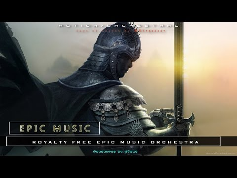 Epic Battle Music Orchestra   Saga of Knight by 魔界Symphony   Copyright Free Music