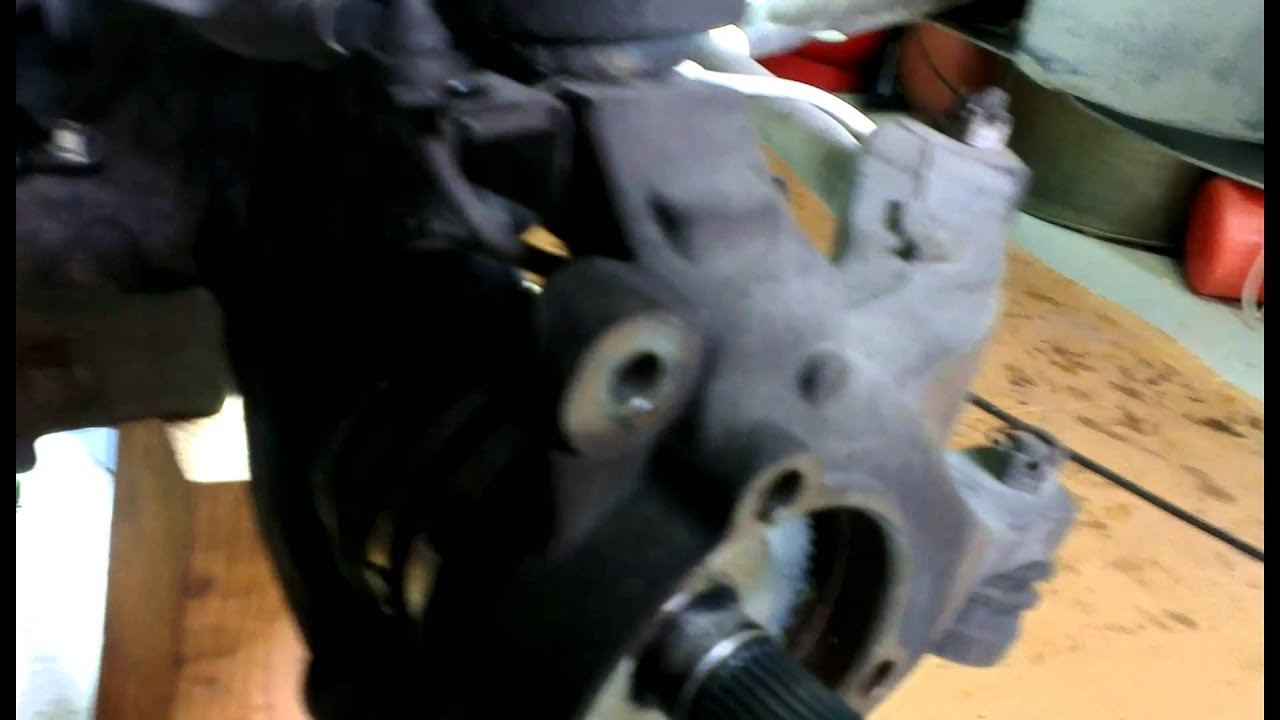 medium resolution of jeep grand cherokee wj front diff axle seal change