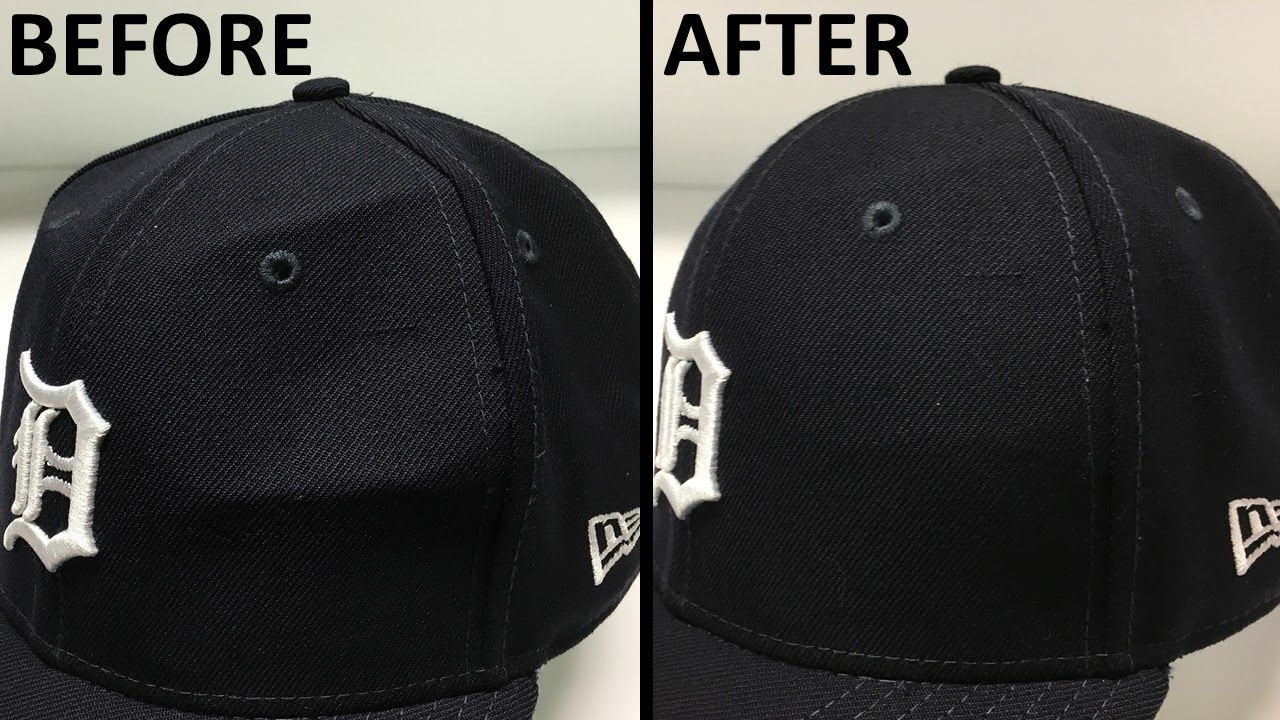 Fixing Dents And Creases In Your 59fifty Cap Youtube