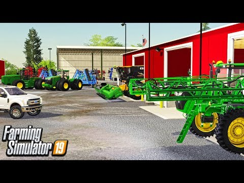 FIRST DAY AS A FARM HAND (ROLEPLAY) FARMER JIM'S EQUIPMENT TOUR | Lone Oak FS19