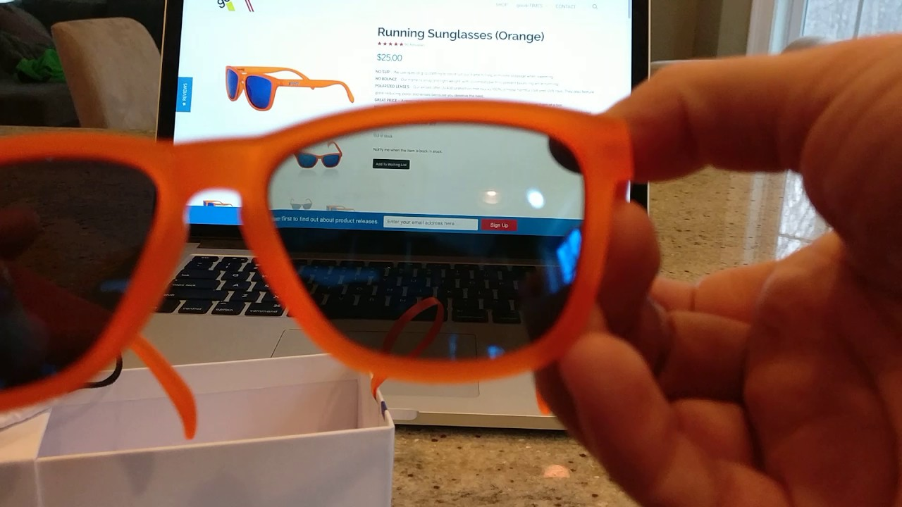 93d9d8c16a Quick review goodr running sunglasses orange donkey goggles youtube jpg  1280x720 Donkey with sun glasses