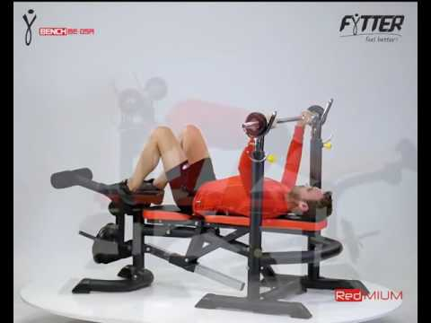 Fytter Bench BE-05R - Banc de musculation - Tool Fitness