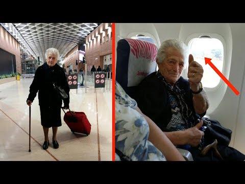 видео: В 93 года женщина собрала чемоданы и шокировала новостью всю семью...