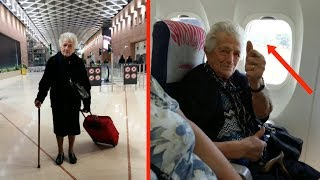 В 93 года женщина собрала чемоданы и шокировала новостью всю семью...