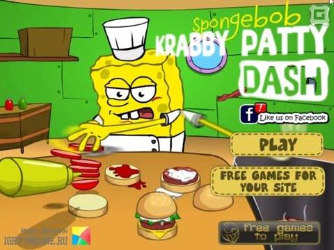 Spongebob Krabby Patty Dash Online