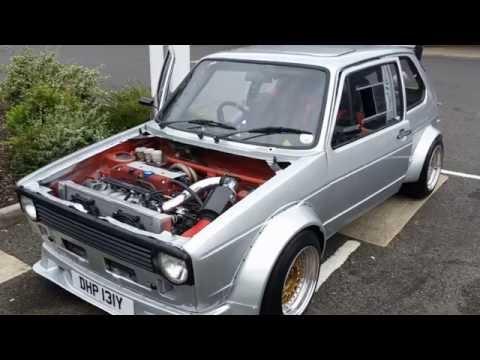 Mk1 Golf Honda K20 Engine FULL BUILD PICTURES
