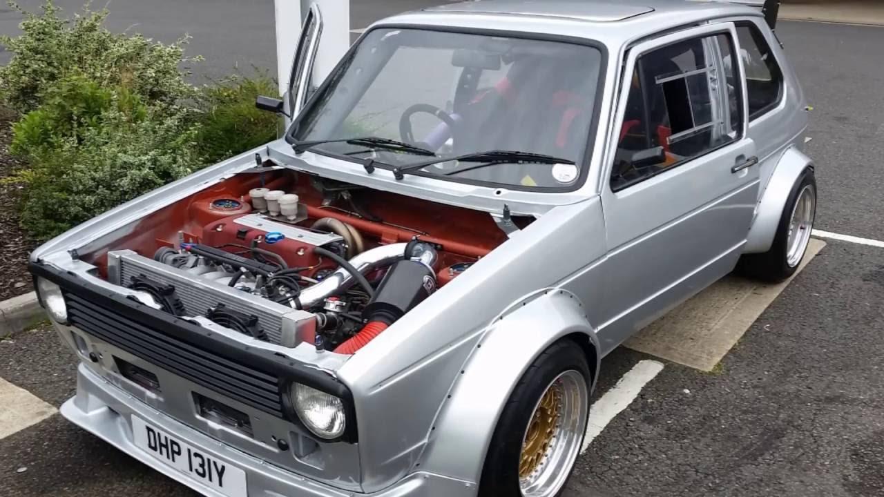 Mk1 Golf Honda K20 Engine FULL BUILD PICTURES - YouTube