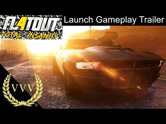 Flatout 4 Gameplay Trailer
