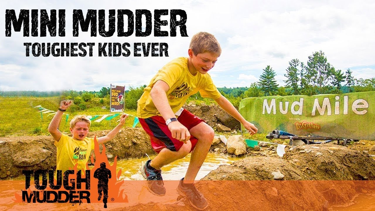 0f278275945 TOUGHEST KIDS EVER  Mini Mudder Kids Obstacle Course