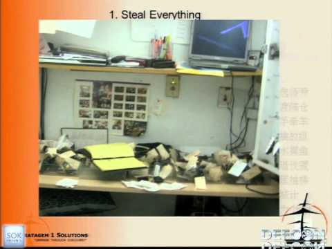 DEFCON 19: Steal Everything, Kill Everyone, Cause Total Financial Ruin!