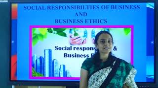 I PUC   BUSINESS STUDIES   SOCIAL RESPONSIBILITIES OF BUSINESS & BUSINESS ETHICS -04