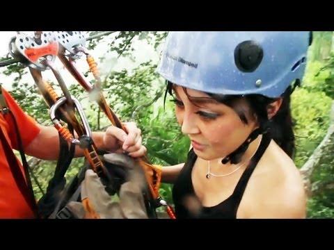 TV Trailer Old San Juan Puerto Rico Zipline Adventure 大冒險 [CiCi Li, Food & Travel]