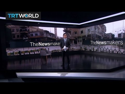 The Newsmakers: Hezbollah's impact in Syria and South Korea's new leader