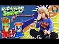 IRON MAN vs Captain America - Avengers Play Doh Playset with Gertit ToysReview