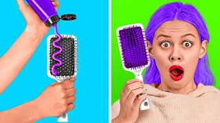 COOL HAIR HACKS TO SAVE YOUR TIME || Awesome Hairstyle Ideas And Tips