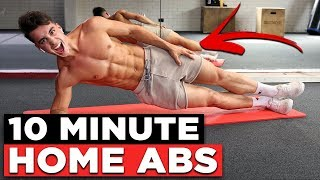 10 MIN BODYWEIGHT WORKOUT (NO EQUIPMENT AB WORKOUT!)