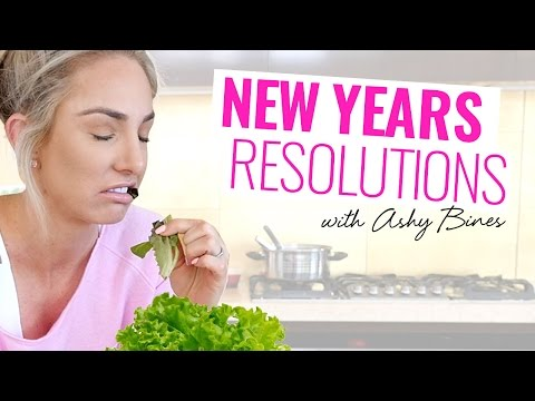 Ashy Bines New Years Resolutions!