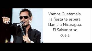 La Gozadera Gente De Zona Ft Marc Anthony Lyrics Letra