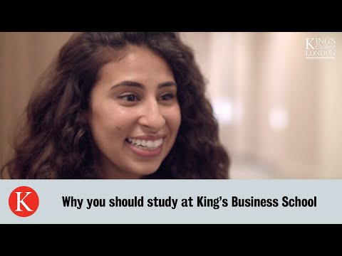 King's Business School | Study At King's