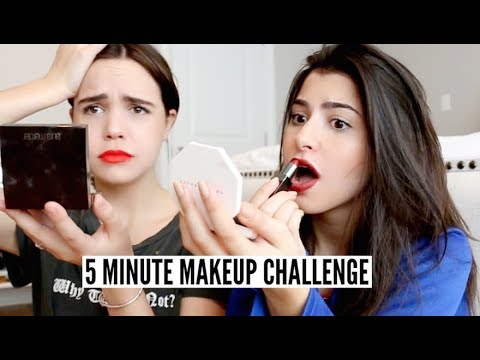 5 Minute Makeup Challenge ft. Bailee Madison