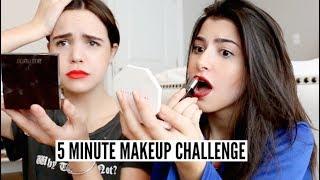 5 Minute Makeup Challenge ft. Bailee Madison
