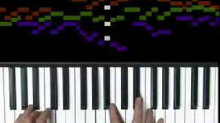 Byrd, Fantasy a 3, piano solo