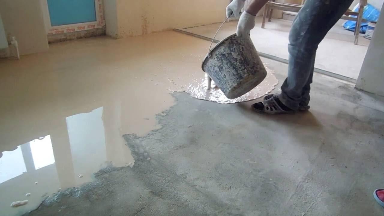 Наливной пол на теплый пол своими руками видео наливной пол в квартиру цветной недорогие спб