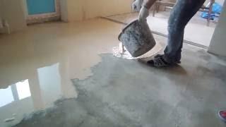 Как залить наливной пол своими руками видео, чем отличается от стяжки полов(, 2016-05-02T02:15:32.000Z)