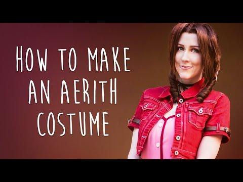 How to Make an Aerith Costume (Final Fantasy VII) - Atelier Heidi