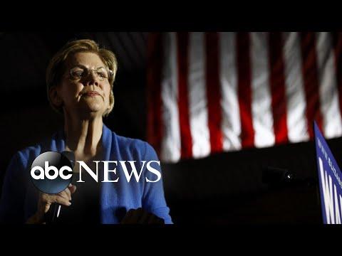 Elizabeth Warren delivers remarks after ending presidential campaign