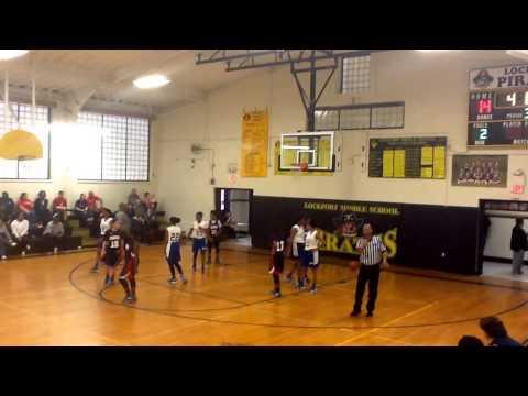 WTMS Rebels (GIRLS) vs JB Martin - 1/16/2016