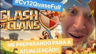 PT EM CV 12 FULL NA LIGA LENDÁRIA!! Clash of Clans